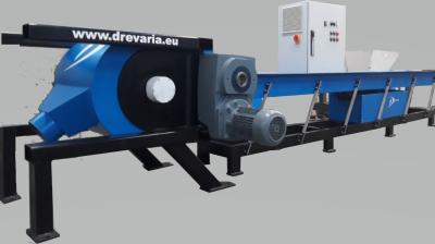 Obrázok: Schredder / Brecher INDUSTRY 500 HORIZONT -Dopelte Sektion (Grob und Feinzerkleinerung) 32kW