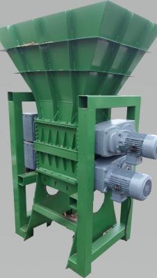 Obrázok: SCHREDER / BRECHER PROFI 600 -doppelte Sektion (Grob und Feinzerkleinerung) 30 kW