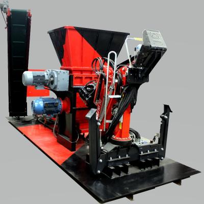 Obrázok: SCHREDER / BRECHER PROFI 800 doppelte Sektion (Grob und Feinzerkleinerung) 55 kW