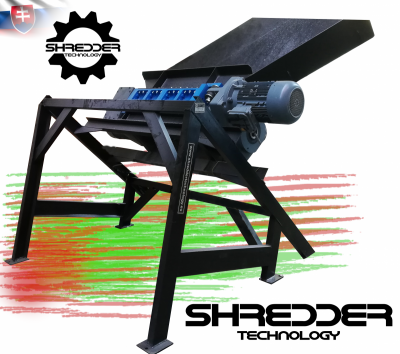Obrázok: SHREDDER / CRUSHER PROFI 800 – shredder for LCD panels